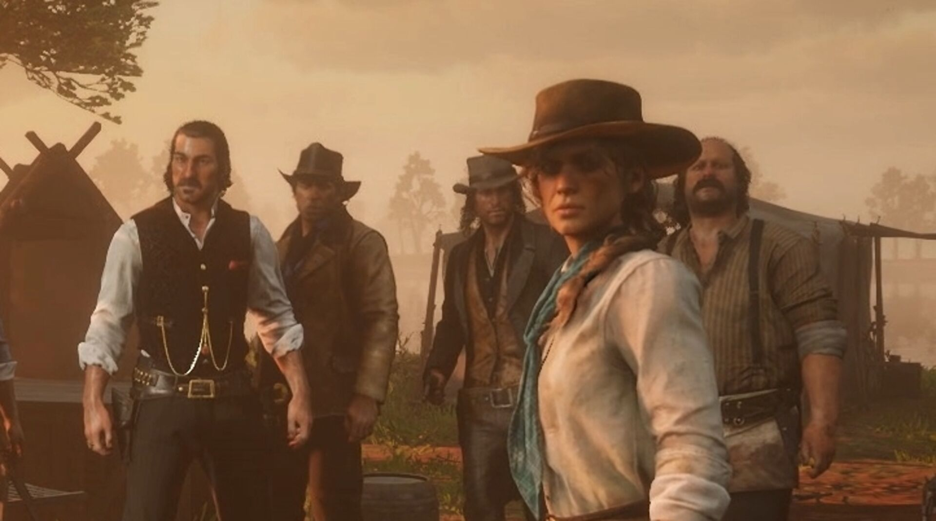 Rockstar reveals Red Dead Redemption 2 supporting cast