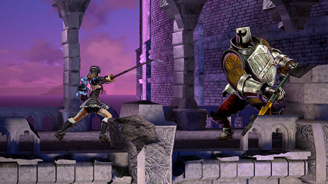 Though it leans on nostalgia, Bloodstained has updated gameplay elements from the Castlevania days, such as a more complex combat system