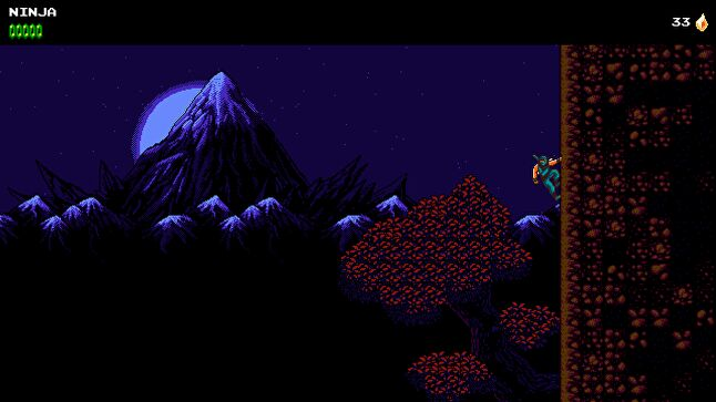 The Messenger's NES-style segments show a clear Ninja Gaiden influence.