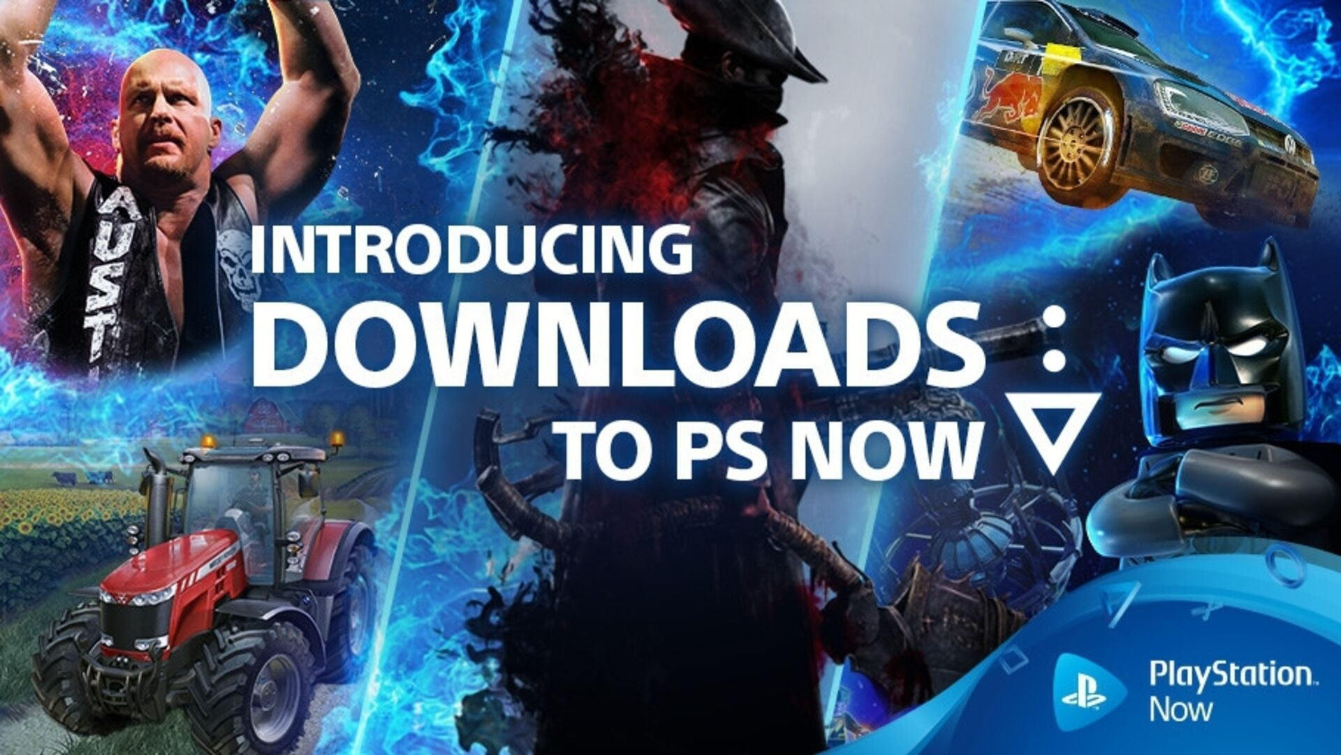 PlayStation Now lets you download games onto your PS4