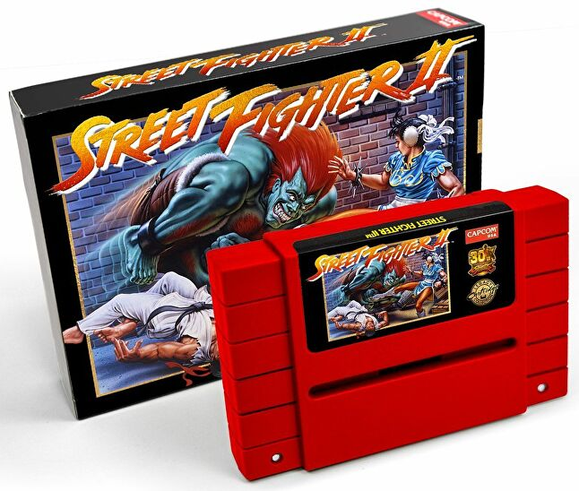 Capcom turned to Retrotainment for help with the Street Fighter II reproduction