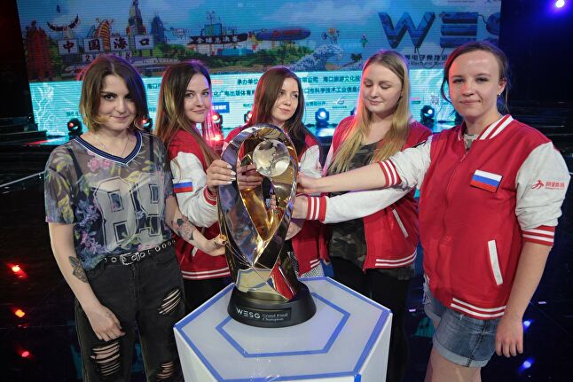 Russian Forces won the WESG 2017 Grand Finals last year in women's group CS:GO