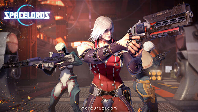 Spacelords is a four vs one multiplayer online shooter