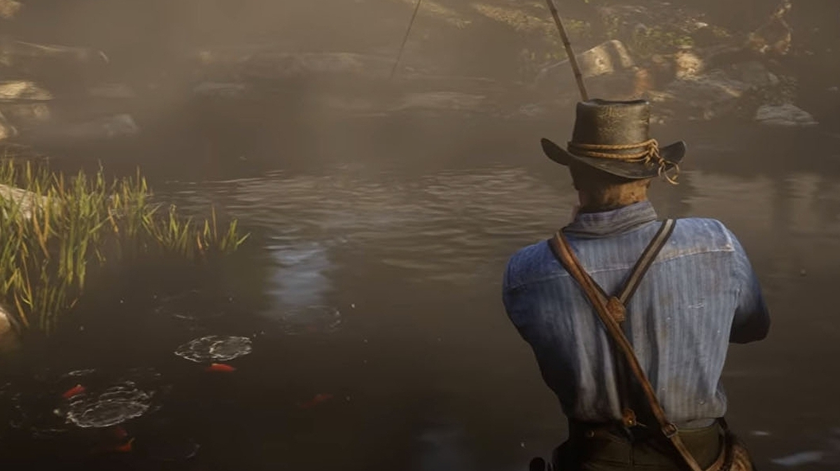 Red Dead Redemption 2 will let you go fishing, among other