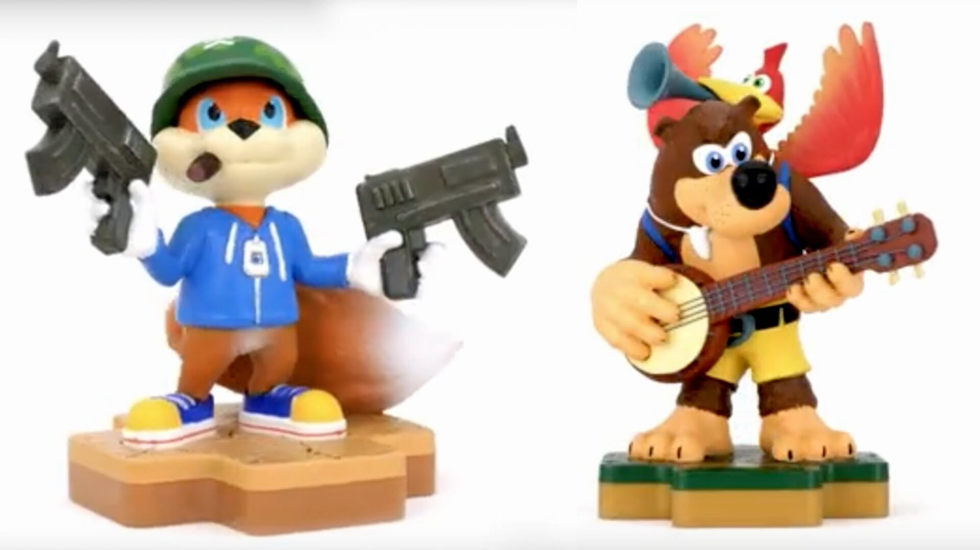 Banjo-Kazooie and Conker are the latest additions to the