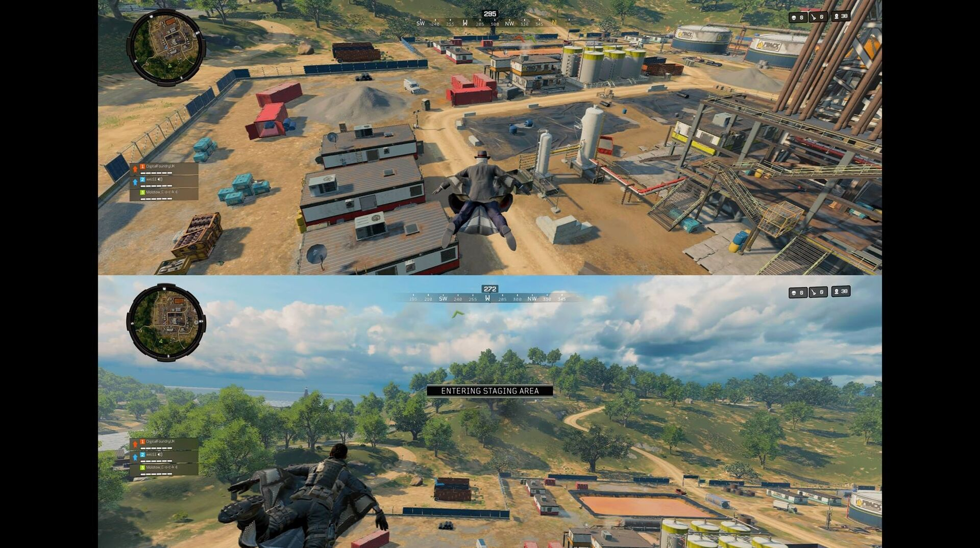 Treyarch kept Call of Duty: Black Ops 4's split-screen quiet