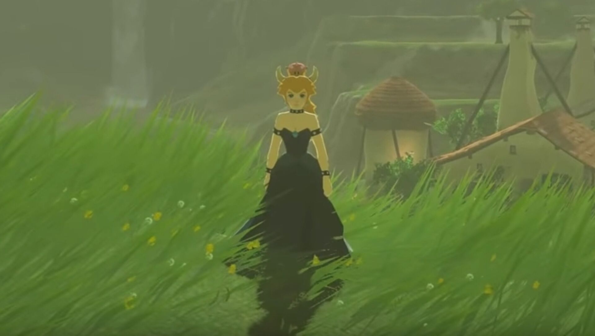 Now there's a Bowsette mod for Zelda: Breath of the Wild • Eurogamer net