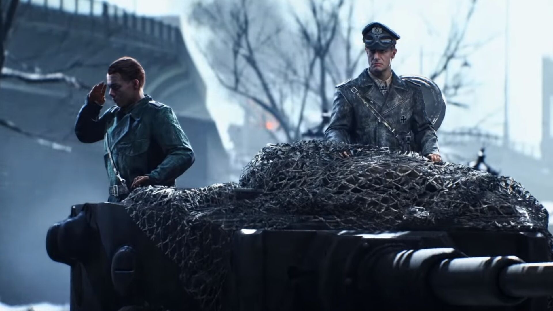 The Battlefield 5 campaign lets you play from the German perspective