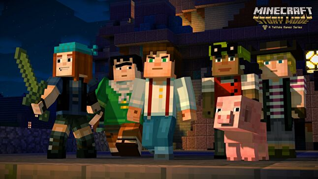 Originally geared towards an older audience before release, Buck said people began asking: 'Why are there dick jokes in my Minecraft?