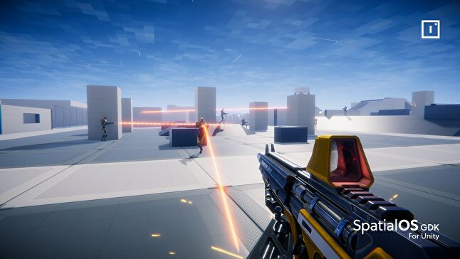 How to build a 200-player online shooter overnight (for free)