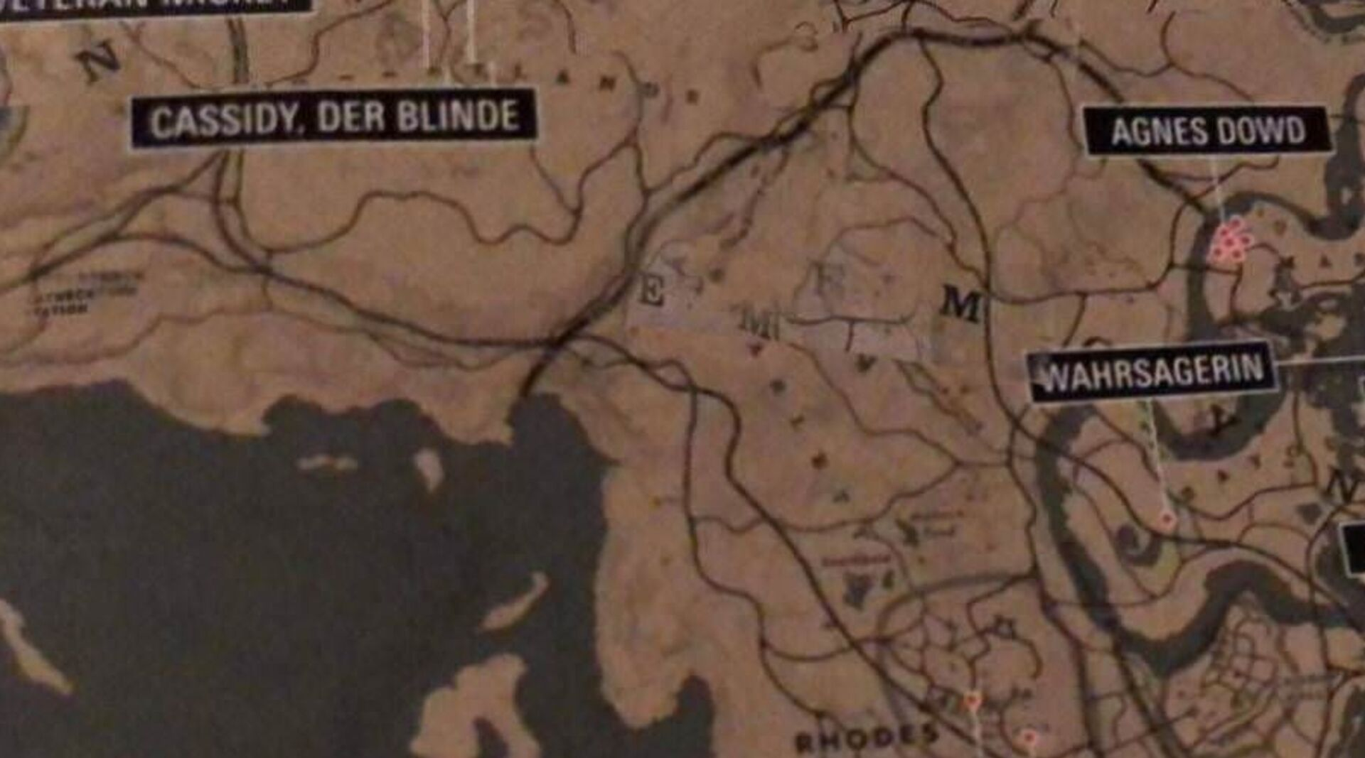 Red Dead Redemption 2's full map leaked • Eurogamer net