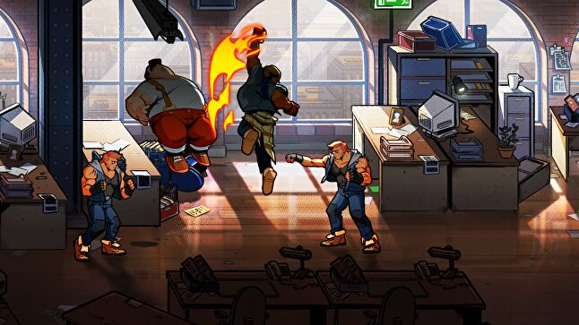 Streets of Rage 4 is being co-developed with both Guard Crush Games, which made Streets of Fury, and Lizardcube, which built a strong reputation after it completely remade Wonder Boy: The Dragon's Trap last year