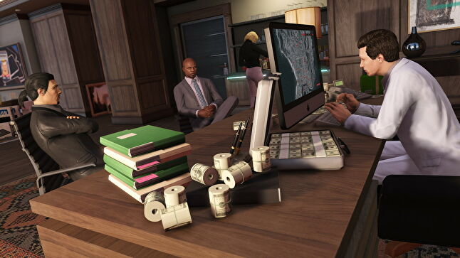 The possibility of large bonuses was one way Rockstar kept employees at their desks working long hours