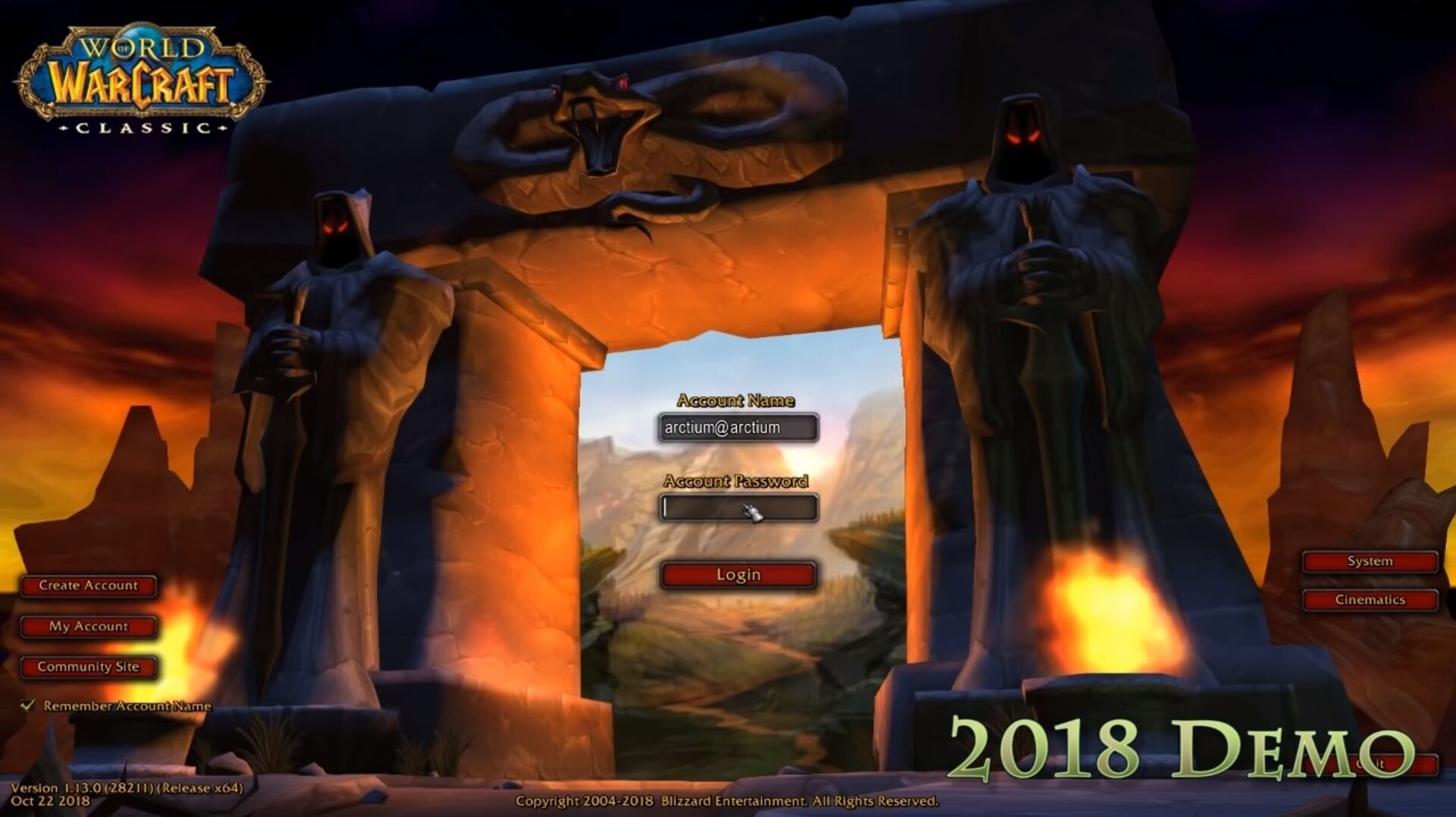 People have cracked open the World of Warcraft classic demo and are