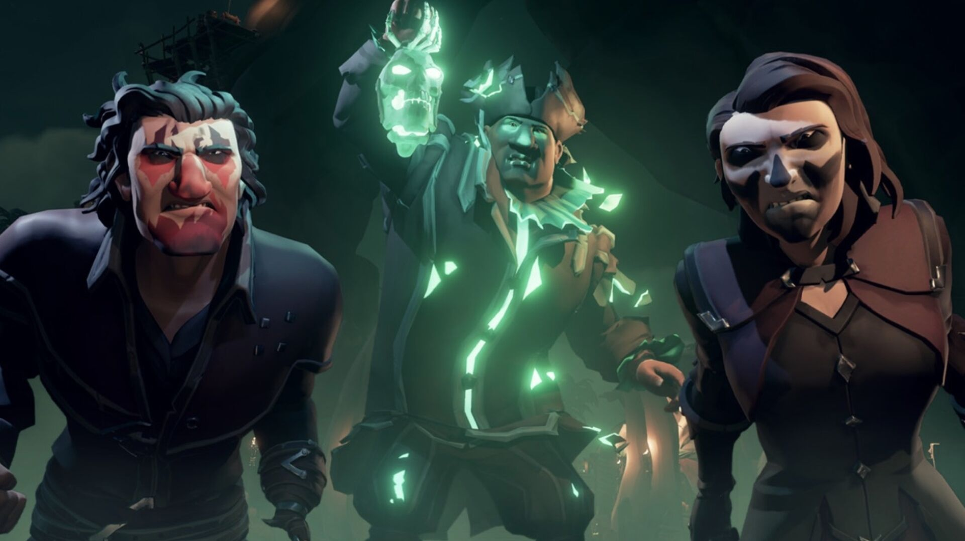 Sea of Thieves' spooky Festival of the Damned event is