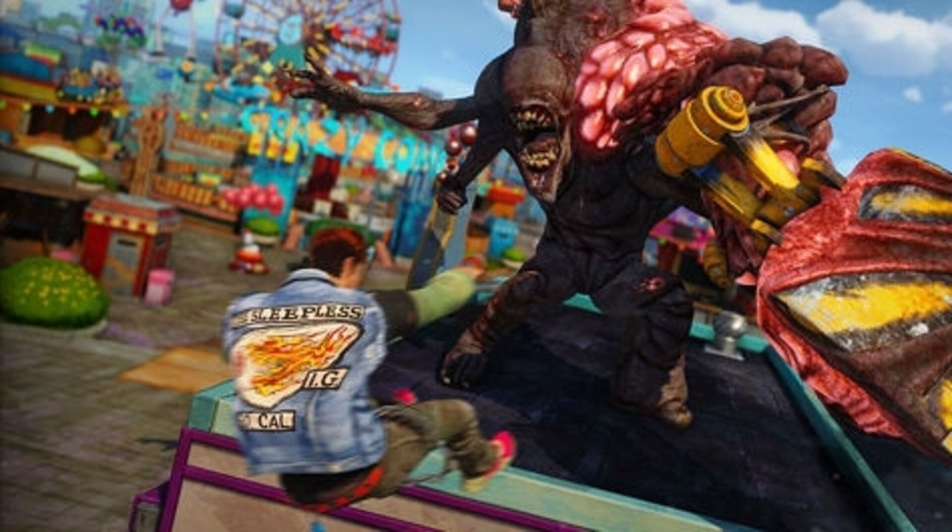 It Looks Like Insomniac S Sunset Overdrive Is Heading To Pc Eurogamer Net
