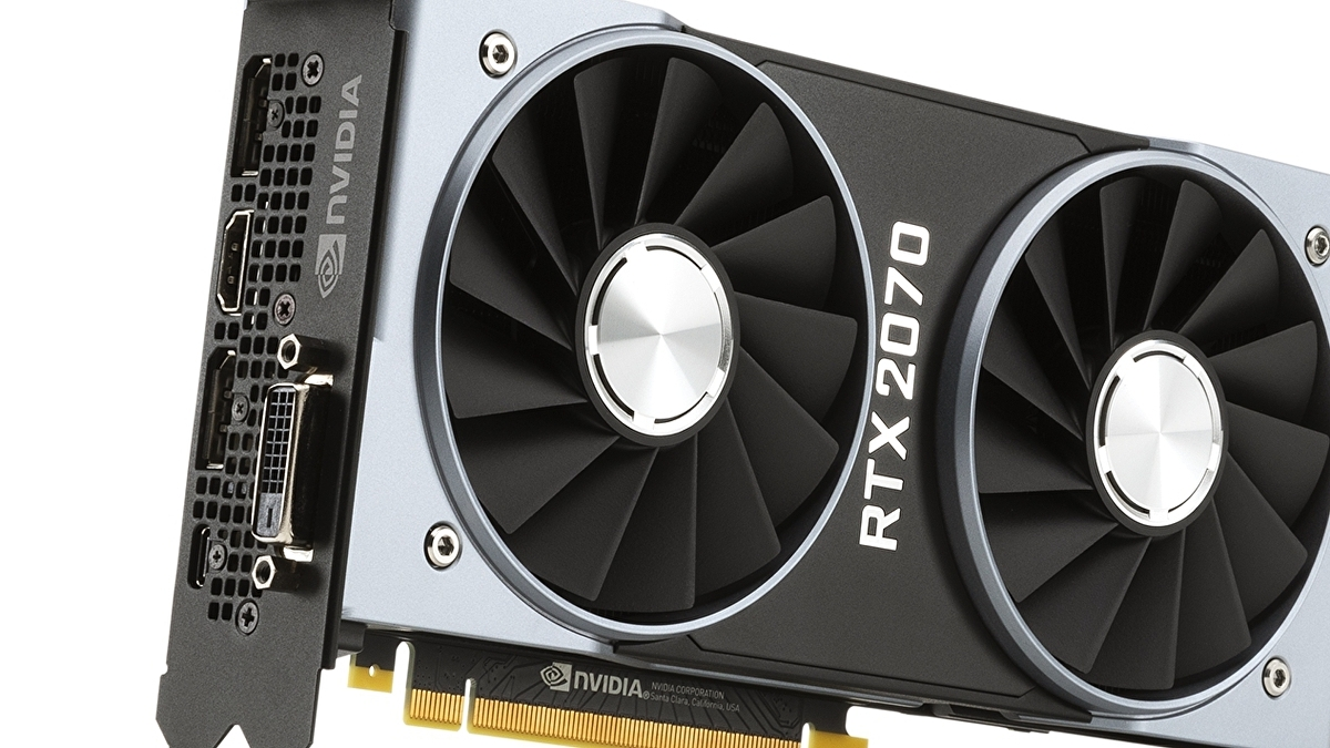 Nvidia GeForce RTX 2070 benchmarks: faster than the GTX 1080