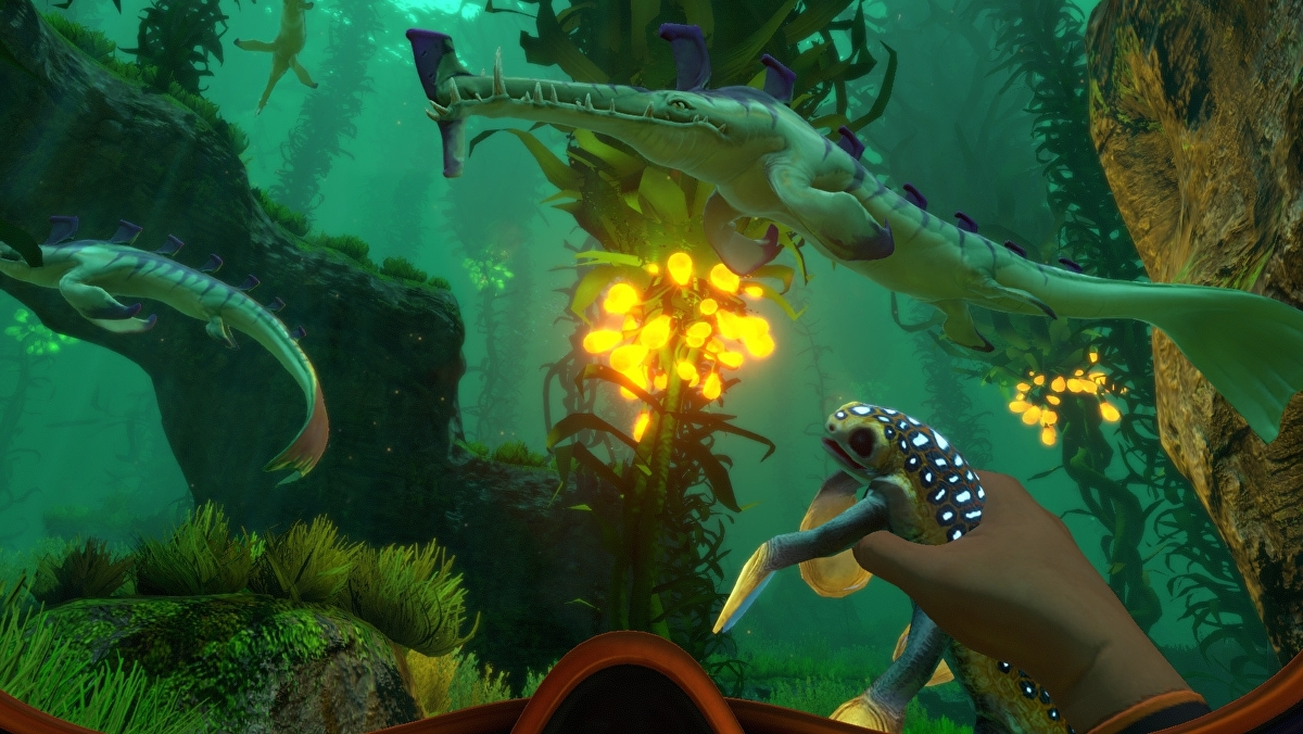 Superb Underwater Survival Adventure Subnautica Dated For December