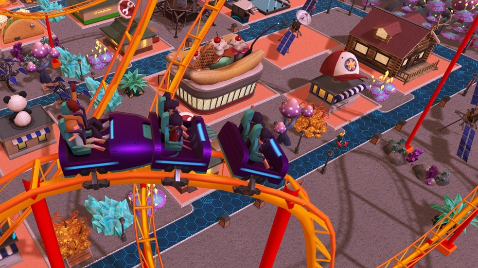 Atari's crowdfunded RollerCoaster Tycoon for Switch launches in two