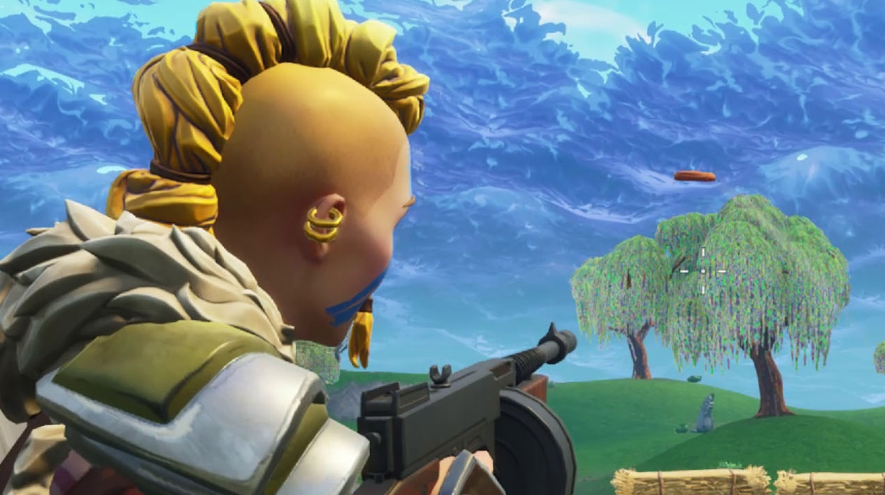 fortnite clay pigeon locations where to find clay pigeon shooting at different locations eurogamer net - all clay pigeon locations fortnite