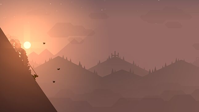 Zen Mode in Alto's Adventure and Alto's Odyssey is a stripped down, consequence-free version of the game without rewards, deaths, or achievements