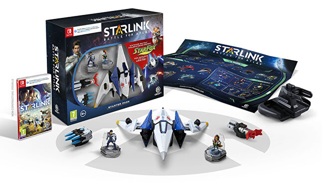 Starlink began as a toys-to-life franchise, so naturally the Star Fox collaboration spilled over into this as well