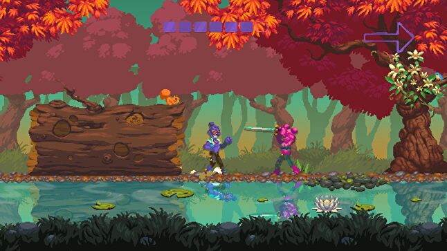 Nidhogg 2 is just one example of how a unique art style can make a 2D game instantly recognisable from any screenshot