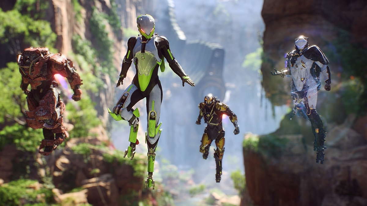 Ea Announces December Start Date For Anthem S Closed Alpha