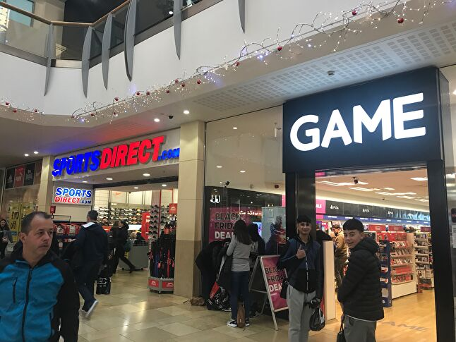 GAME has received investment from Sports Direct