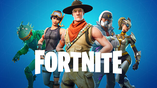 Fortnite, one of the many big games this year not on Steam