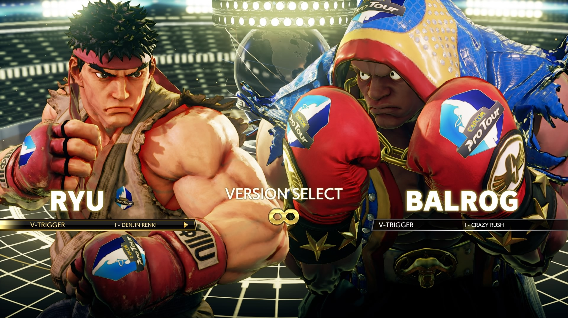 ultra street fighter 4 edition select arcade mode