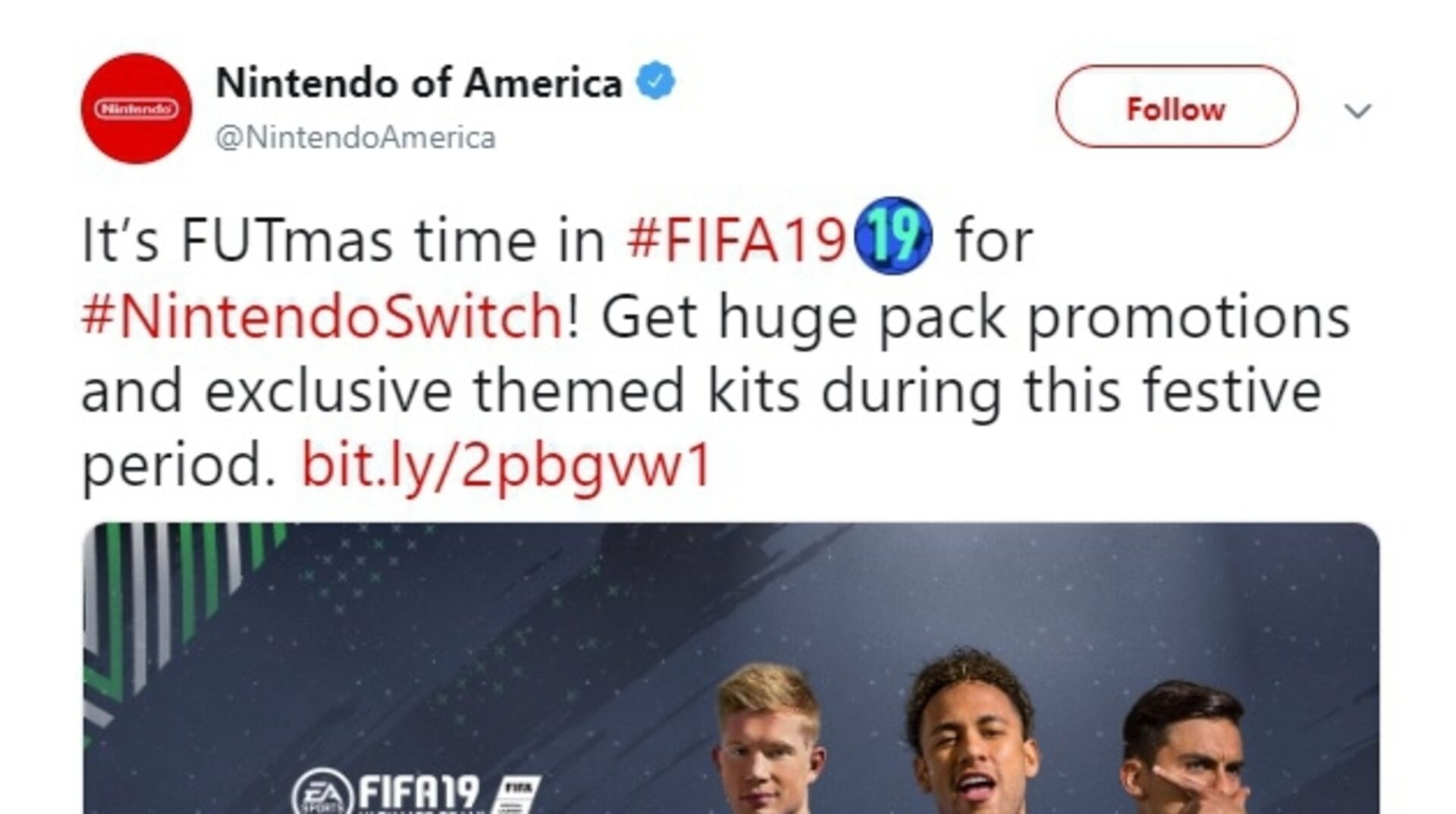 Nintendo Switch FIFA 19 Ultimate Team players shafted once again