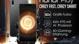 Das neue Honor Play: Crazy Fast, Crazy Smart