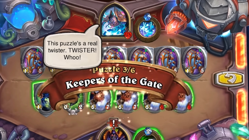 hearthstone puzzle lab guide solutions and answers walkthrough
