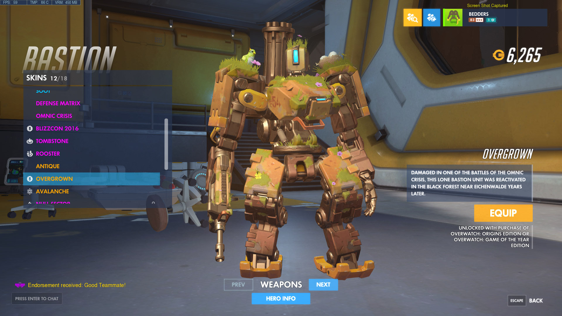 How to Play As Bastion in Overwatch photo