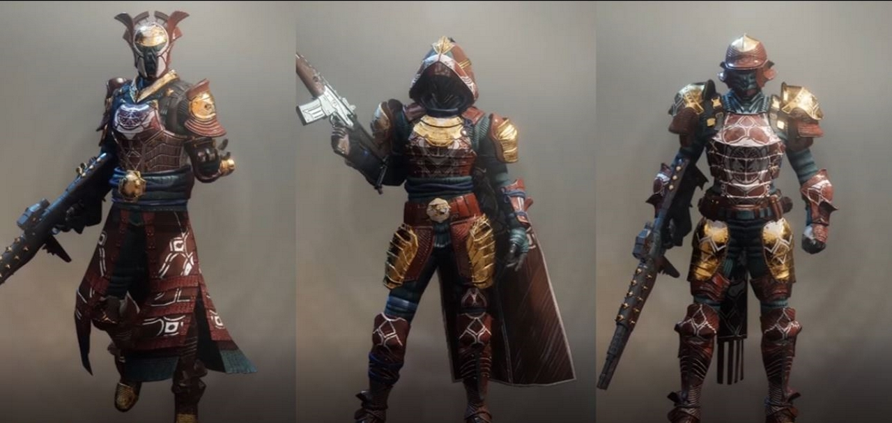 Iron Banner FULL QUEST ARMOR