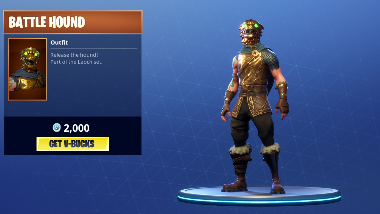 Fortnite Battlehound Outfit Battle Pass Released Epic