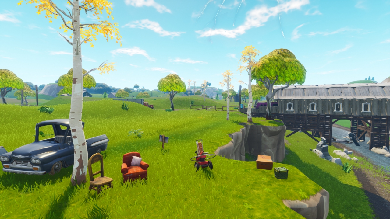 Fortnite: All Clay Pigeon locations (Shoot a Clay Pigeon at