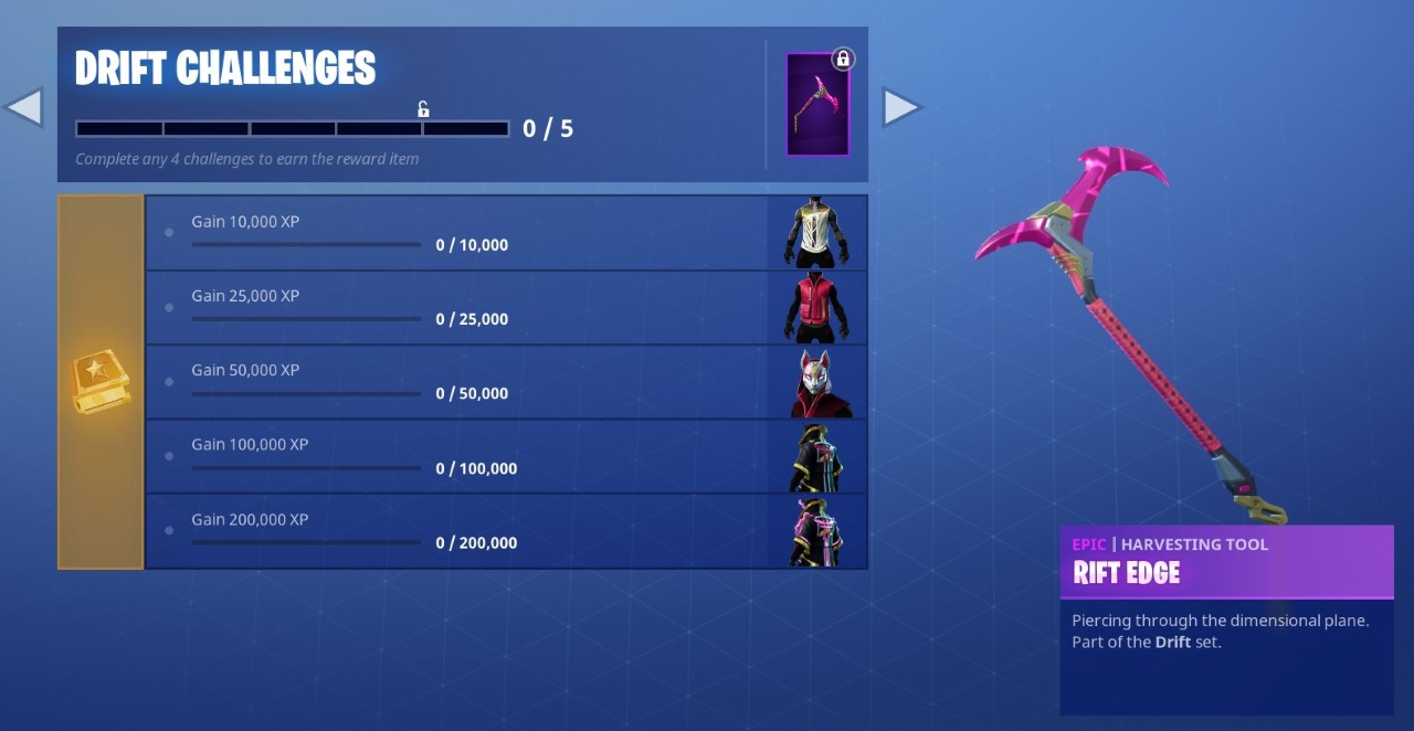 Fortnite Road Trip And Drift Skins Guide Secret Battle Star