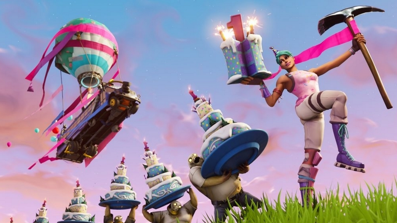 Fortnite: All Birthday Cake Locations (Dance In Front Of