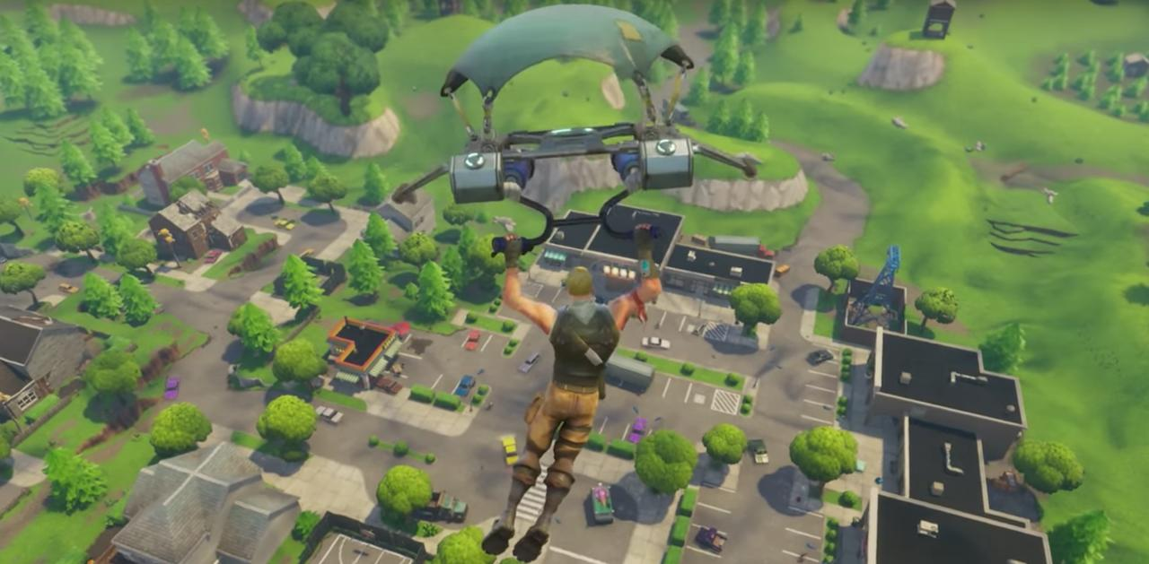 Fortnite Battle Royale Chest Map Loot Map Pc Ps4
