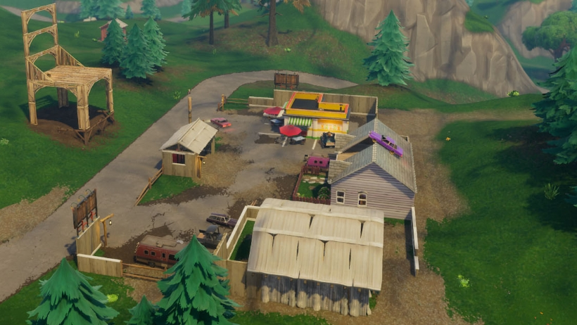 any enemies you run into and as these areas are hotly contested it s likely you ll stumble into some fights and get the drop on multiple foes as well - good places to land in fortnite season 7