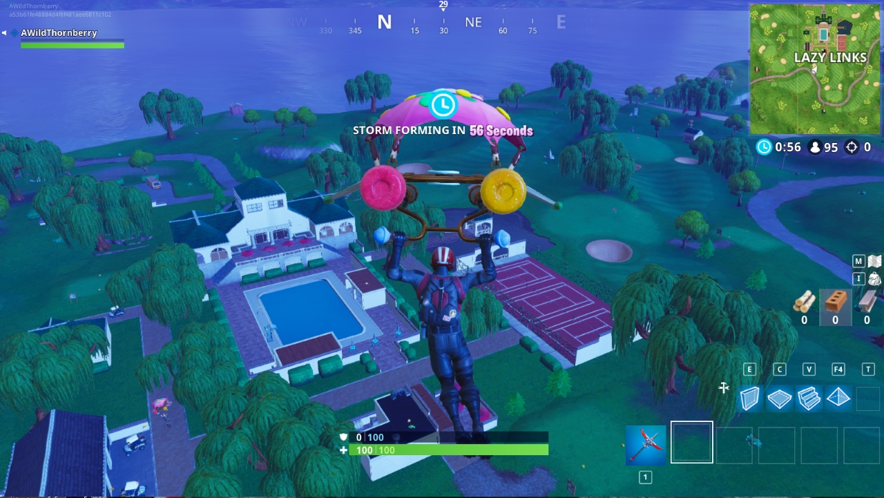 on fortnite s staggering success as of late gone is the old farmhouse and in it s place a wonderful villa retreat complete with tennis court - fortnite vehicles names