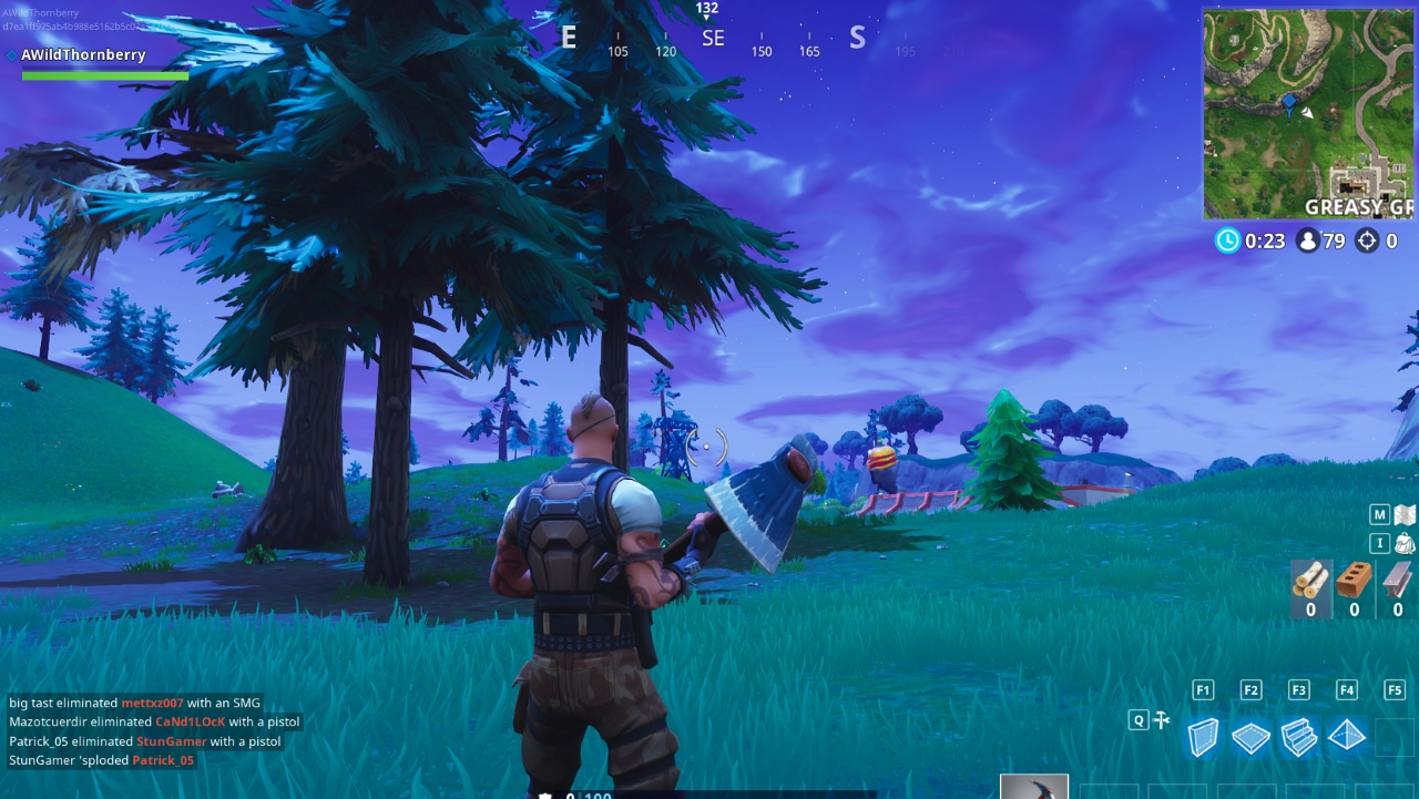 Fortnite Playground Campsite And Footprint Location Explained