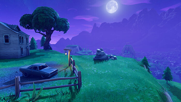 Fortnite Search Between A Stone Circle Wooden Bridge And