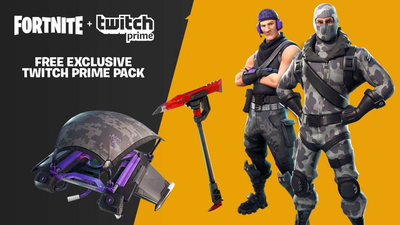 Fortnite: How to claim Twitch Prime skins and loot | Metabomb