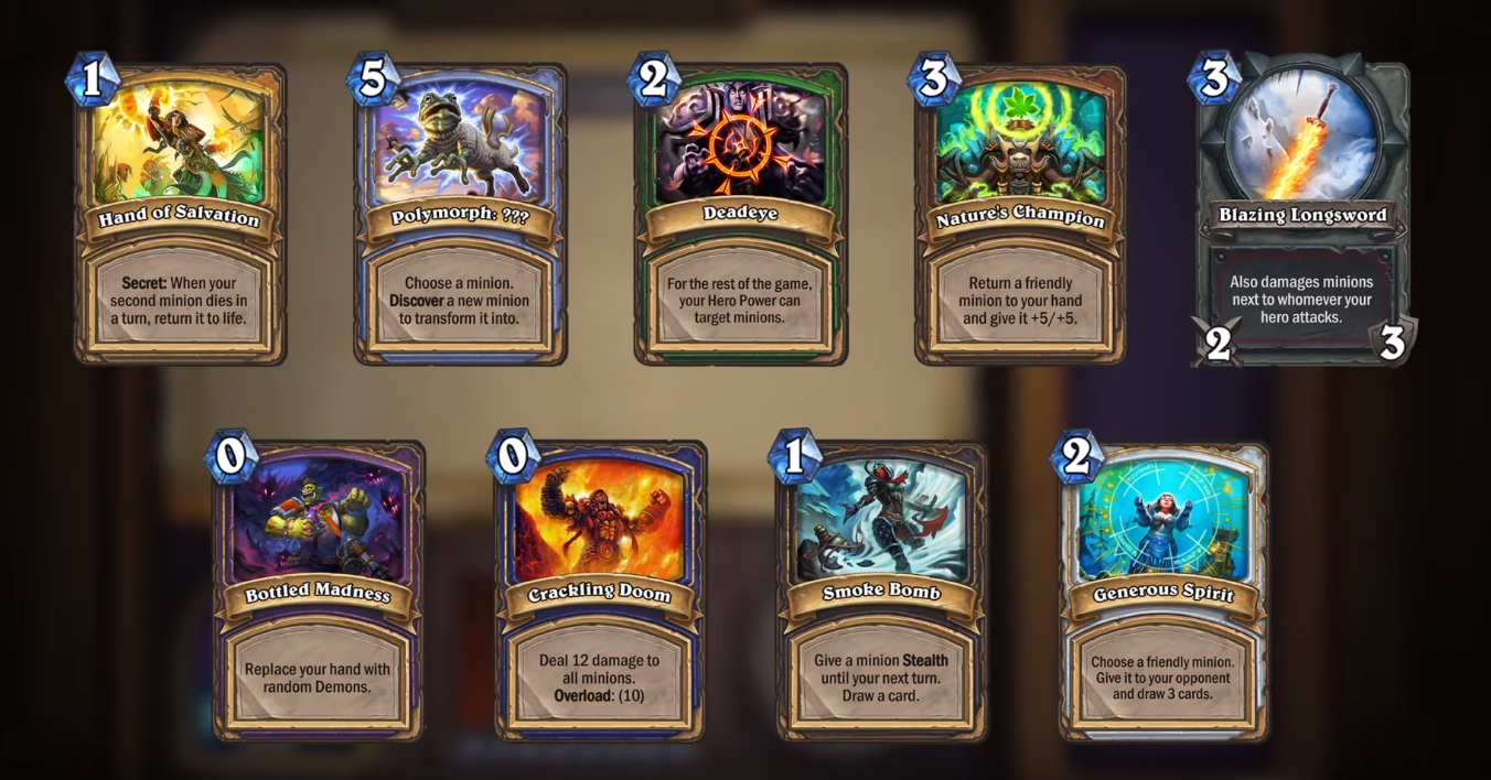 Hearthstone 10.4 Arena guide: New Arena cards & drafting