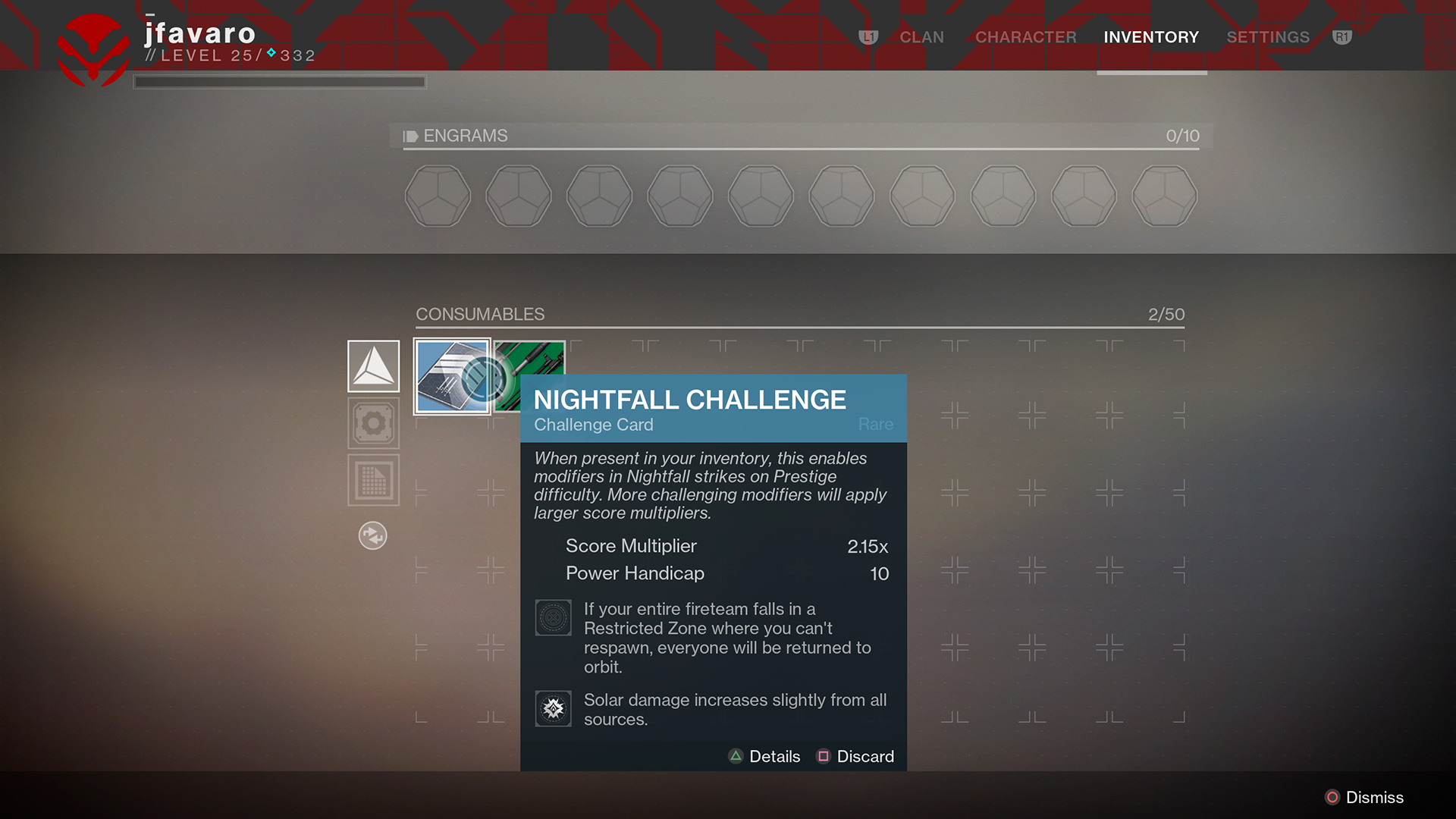 why is there no matchmaking for nightfall strikes