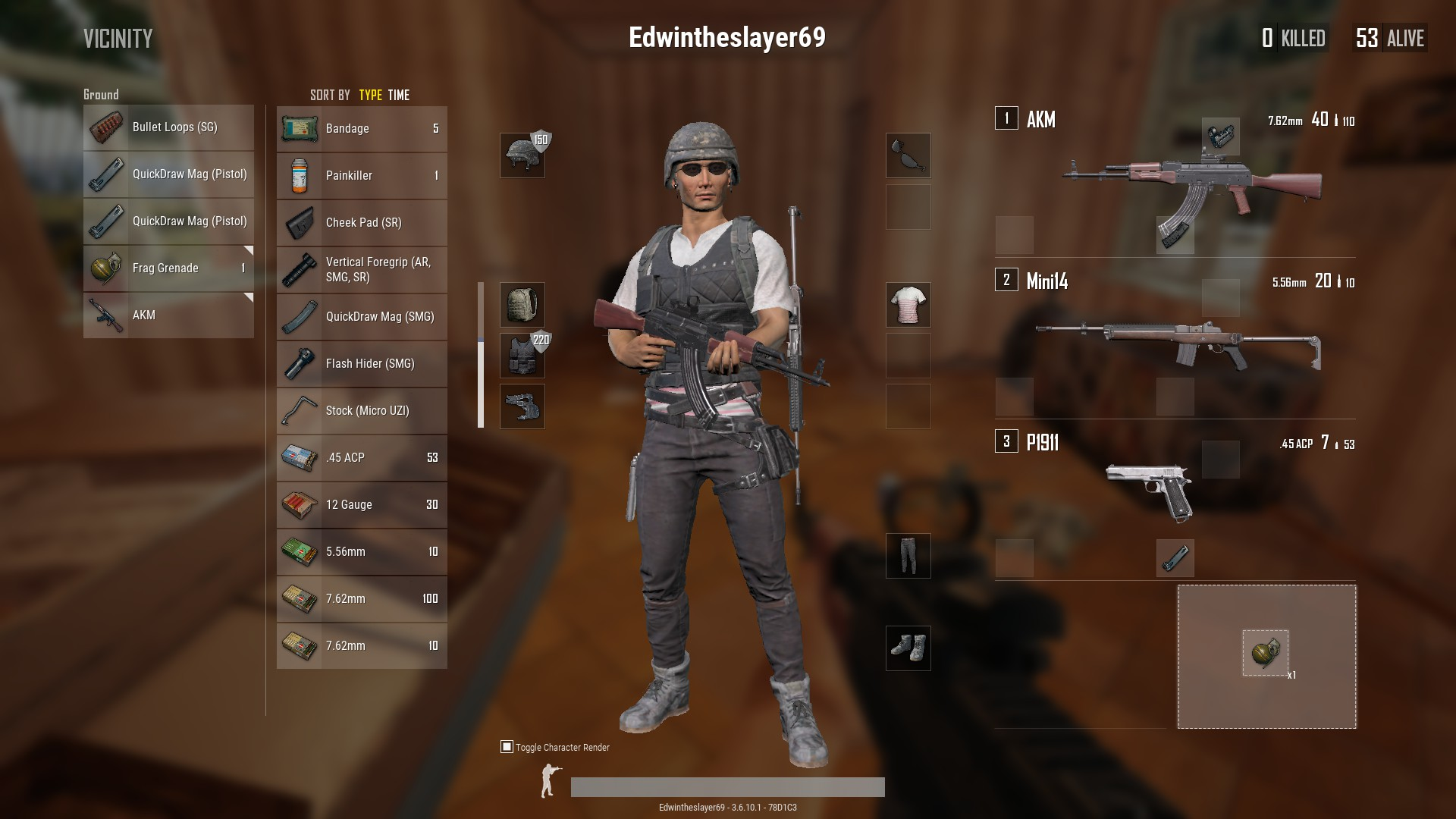 PUBG: How to equip guns, attachments and grenades (Guide