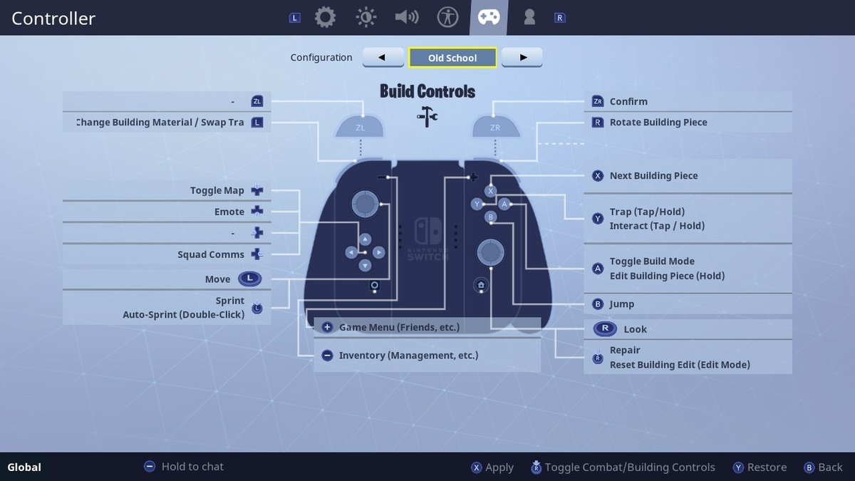 best building settings fortnite pc